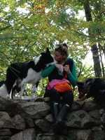 """""""And we all lovewalking our dogs on long wooded trails year round -- it'sgood for the soul."""""""