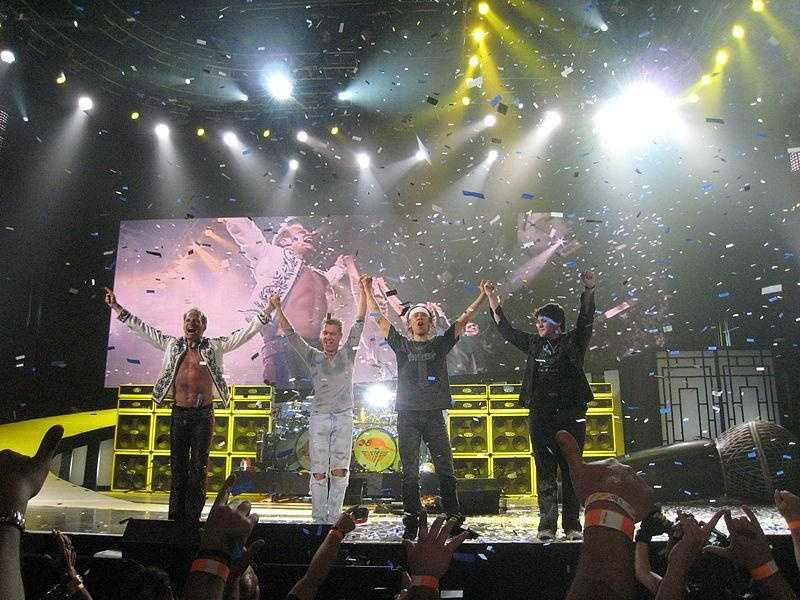Heather's first concert: Van Halen in the late 1970s