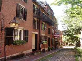 """Heather's favorite Boston spot is Beacon Hill. """"There is something magically historic and breathtaking about Beacon Hill,"""" she said."""