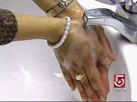 10.) Wash your hands