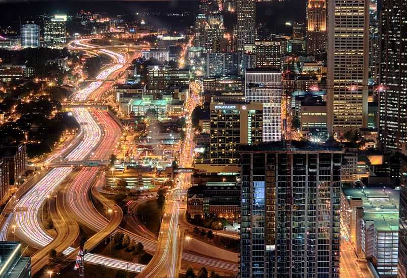 Atlanta drivers wasted 51 hours sitting in traffic last year.