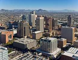 Phoenix drivers wasted 35 hours sitting in traffic last year.