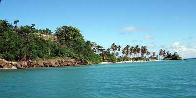 6. (tie) Domican Republic -- 1.7 million Americans traveled to the Dominican Republic in 2011