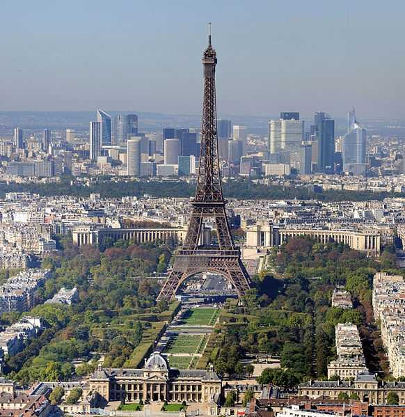 4. France -- 1.8 million Americans traveled to France in 2011