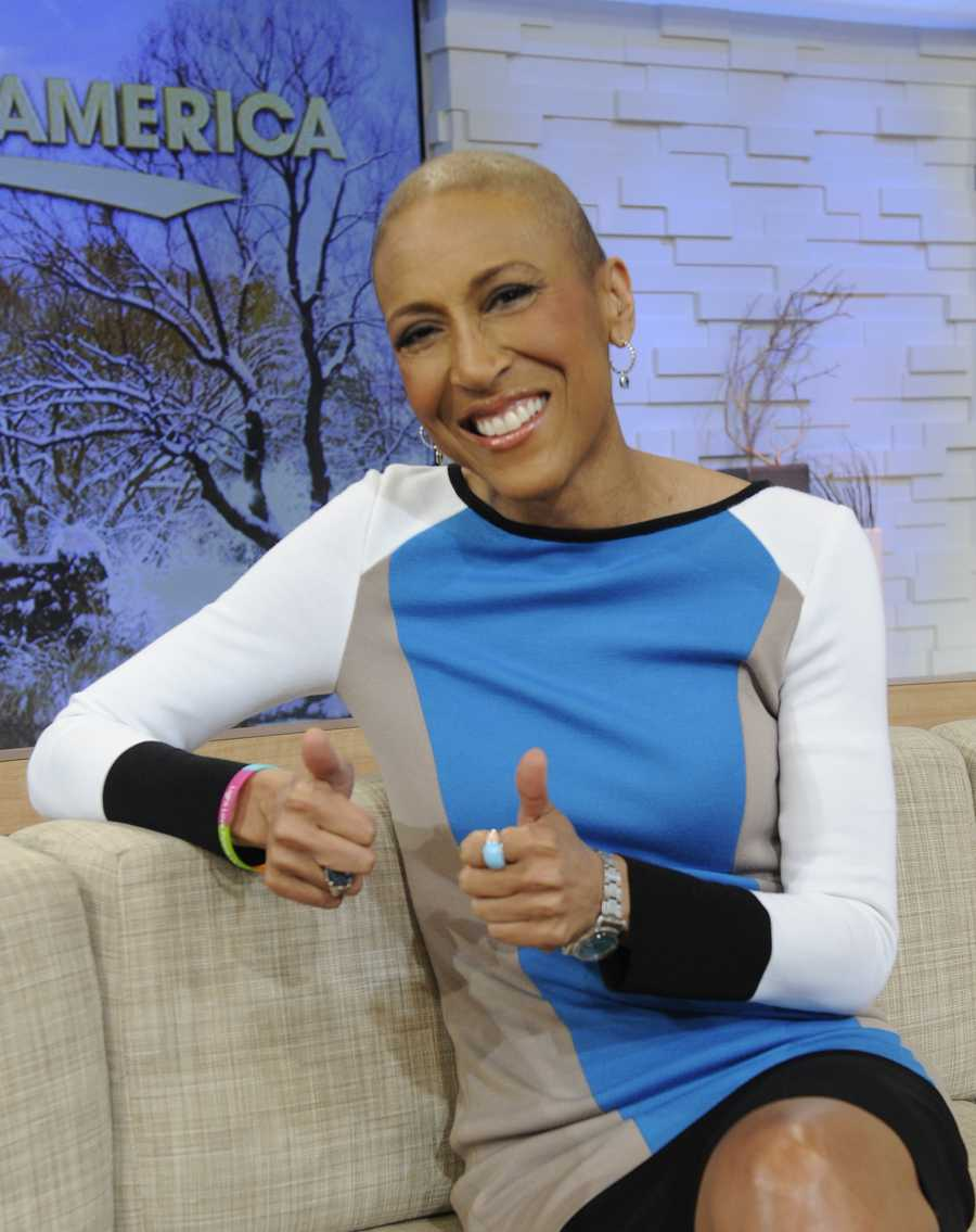 """""""Praise God,"""" Robin Roberts said. """"I am beginning the process of returning to the anchor chair. I'm coming home."""" 'GMA' anchor Robin Roberts said on Jan. 14 announcing her return."""