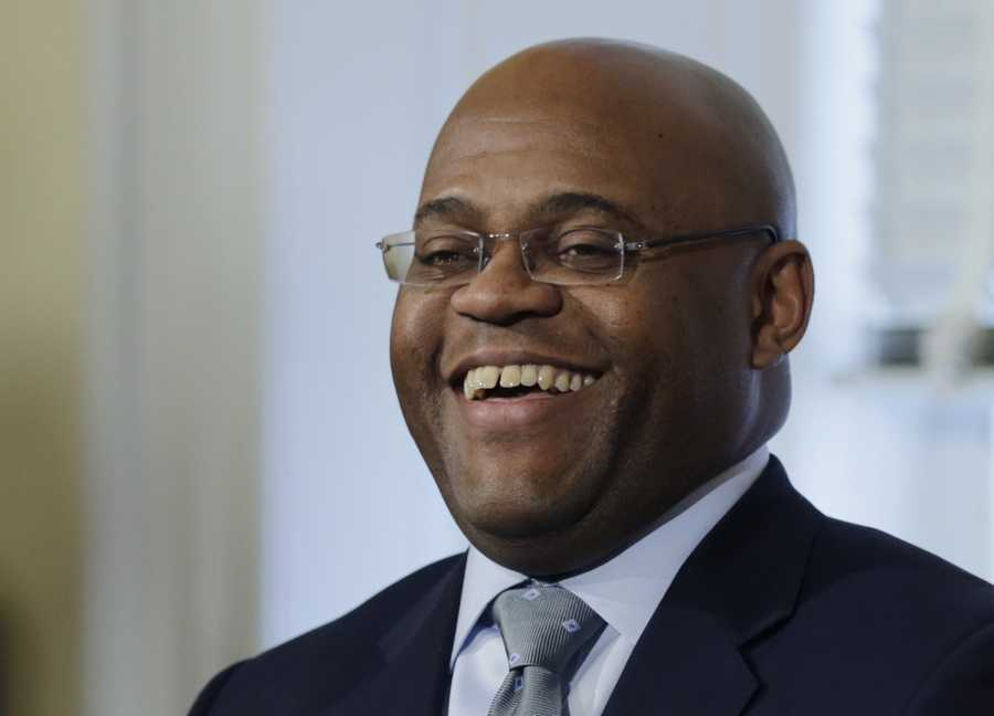 """""""My mother told me, 'Days like today are possible.' I want to thank my mom from the bottom of my heart for given me the foundation that led to today,"""" William """"Mo"""" Cowan said as he accepted Gov. Deval Patrick's nomination as interim Senator for Massachusetts."""