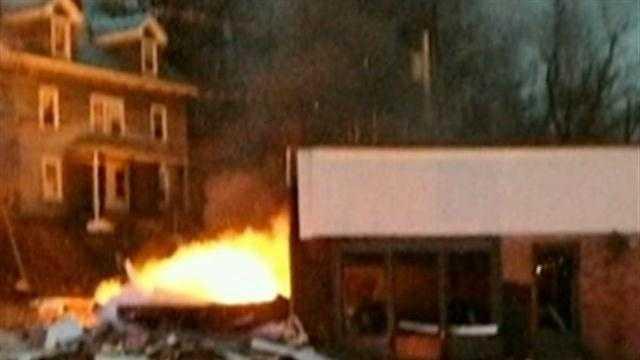 Auto shop blast rocks neighborhood