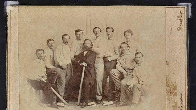 Brooklyn Atlantics Baseball Card