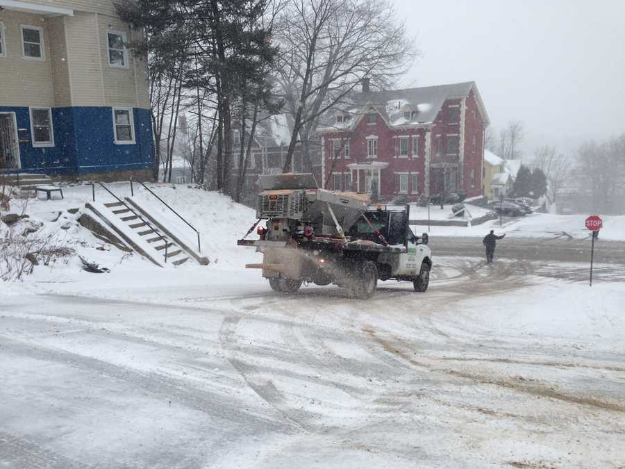 Salters hit the roads in Worcester.