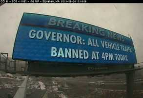 MEMA is utilizing digital billboards in the metro Boston area to provide critical safety messages.