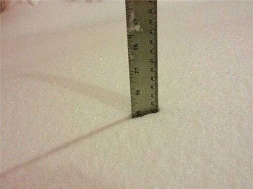 Jamaica Plain -- 15 inches and counting!
