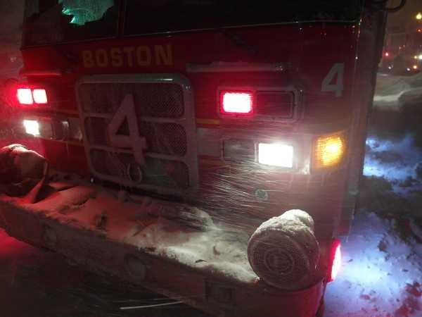 Boston Fire Department spokesman Steve MacDonald said a decision has not yet been made on whether to evacuate the 500 residents.