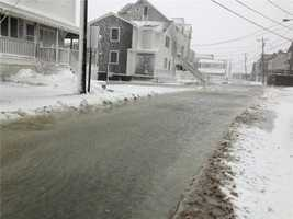 Scituate before the 10 a.m. high tide Saturday
