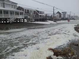 Flooding in Humarock