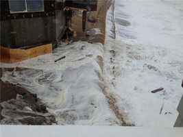 Flooding on Plum Island