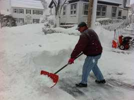 Cleaning up in Dorchester