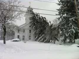 Second Parish Church in Hingham