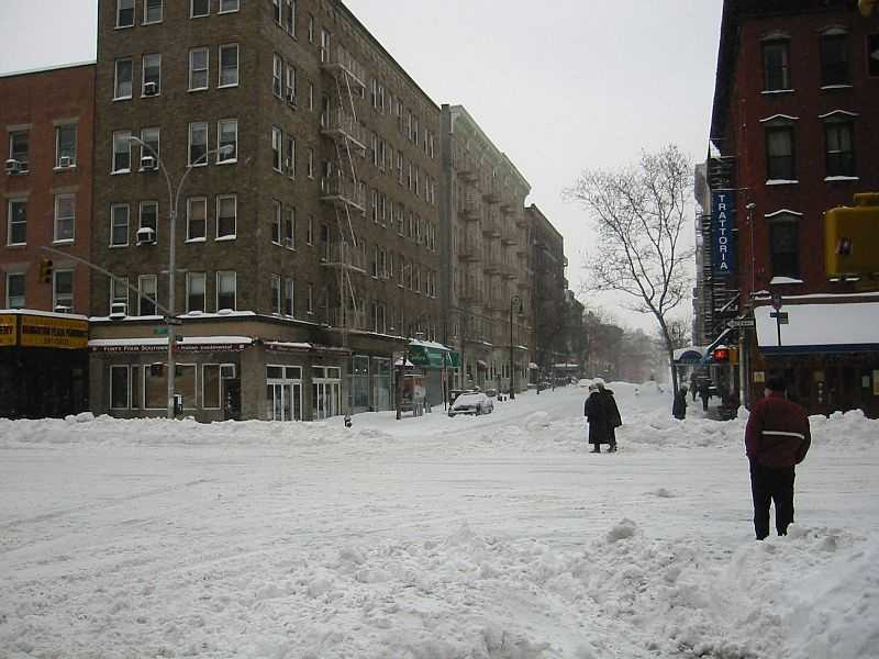The Blizzard of 2003, also known as the Presidents' Day Storm, was a historical and record-breaking snowstorm all along the East Coast.