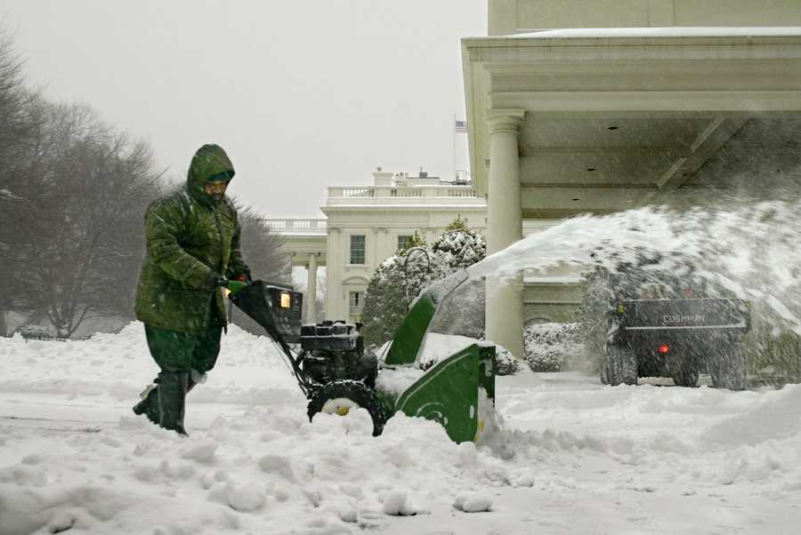All cities from Washington, D.C. to Boston were covered in 15 to 30 inches of snow.