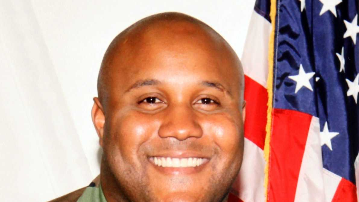 This undated photo released by the Los Angeles Police Department shows suspect Christopher Dorner, a former Los Angeles officer. Los Angeles authorities on Sunday put up a $1 million reward for information leading to the arrest of Christopher Dorner, the former Los Angeles police officer suspected in three killings.