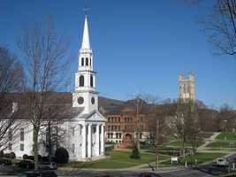 92.) Williamstown -- 40.8 percent