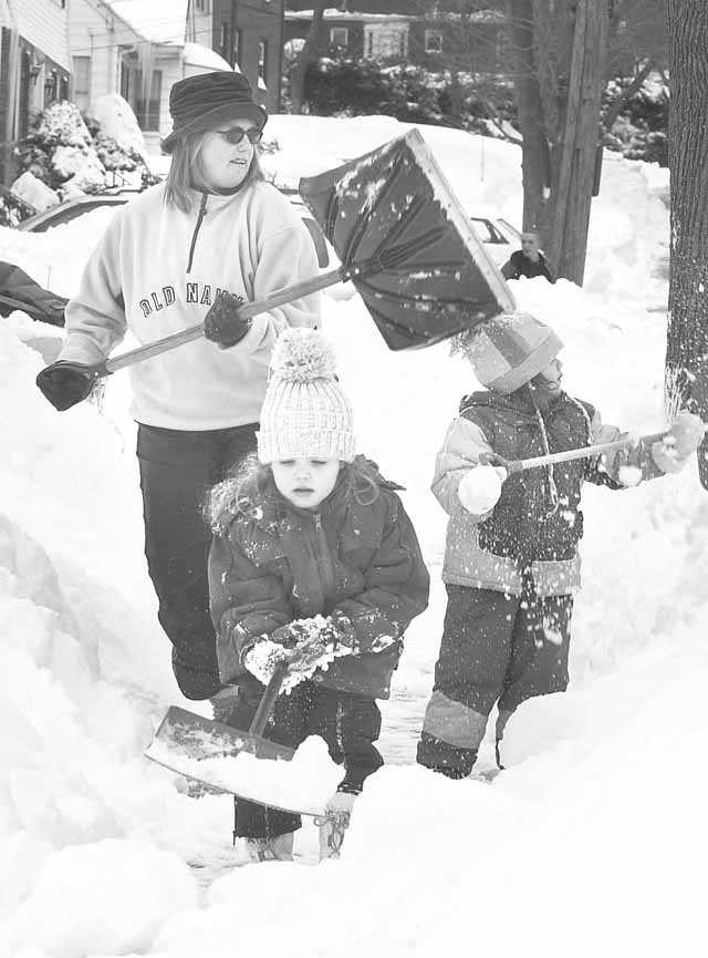 Digging out on the South Shore
