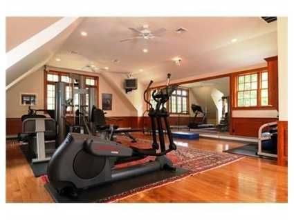 Your own private exercise room.
