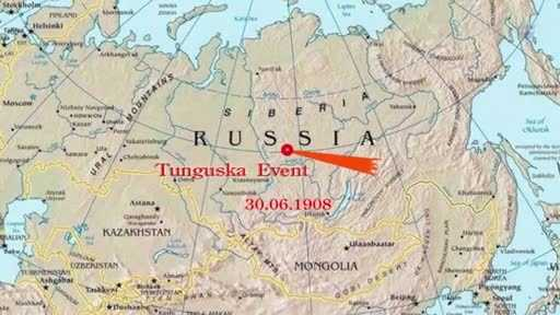 In 1908, something approximately the same size of the asteroid 2012 DA14 exploded over the atmosphere over Siberia, Russia.