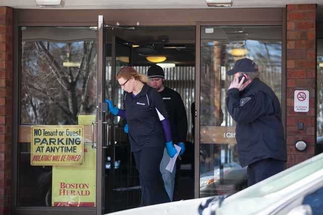 One of the men was found dead Wednesday afternoon by Boston EMS at the apartment complex at 1 Cliffmont Street. EMS returned to the complex Thursday morning and found a second man dead from apparently the same symptoms.