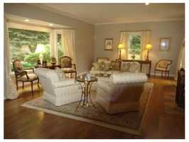 The formal living room.