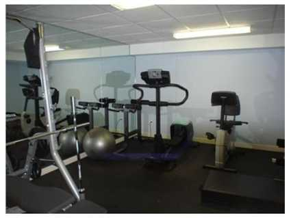 Your own workout room.