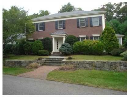 This stunning colonial is beautifully sited on 1.72 acres with mature landscaping.