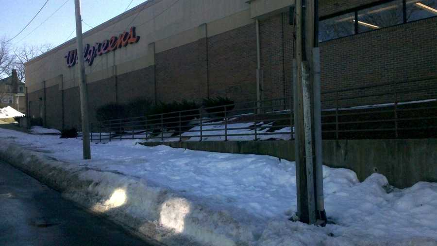 """Deerfield, Ill.-based Walgreens said in a statement that despite the """"magnitude of the storm"""" it had crews working 24 hours to clear parking lots and sidewalks and cleanup efforts are ongoing."""