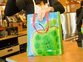 10. Reusable bags. They are helpful totheenvironment, but may be harmful to you.  Most of these bags are porous, so juices from meat can soak into the fibers.