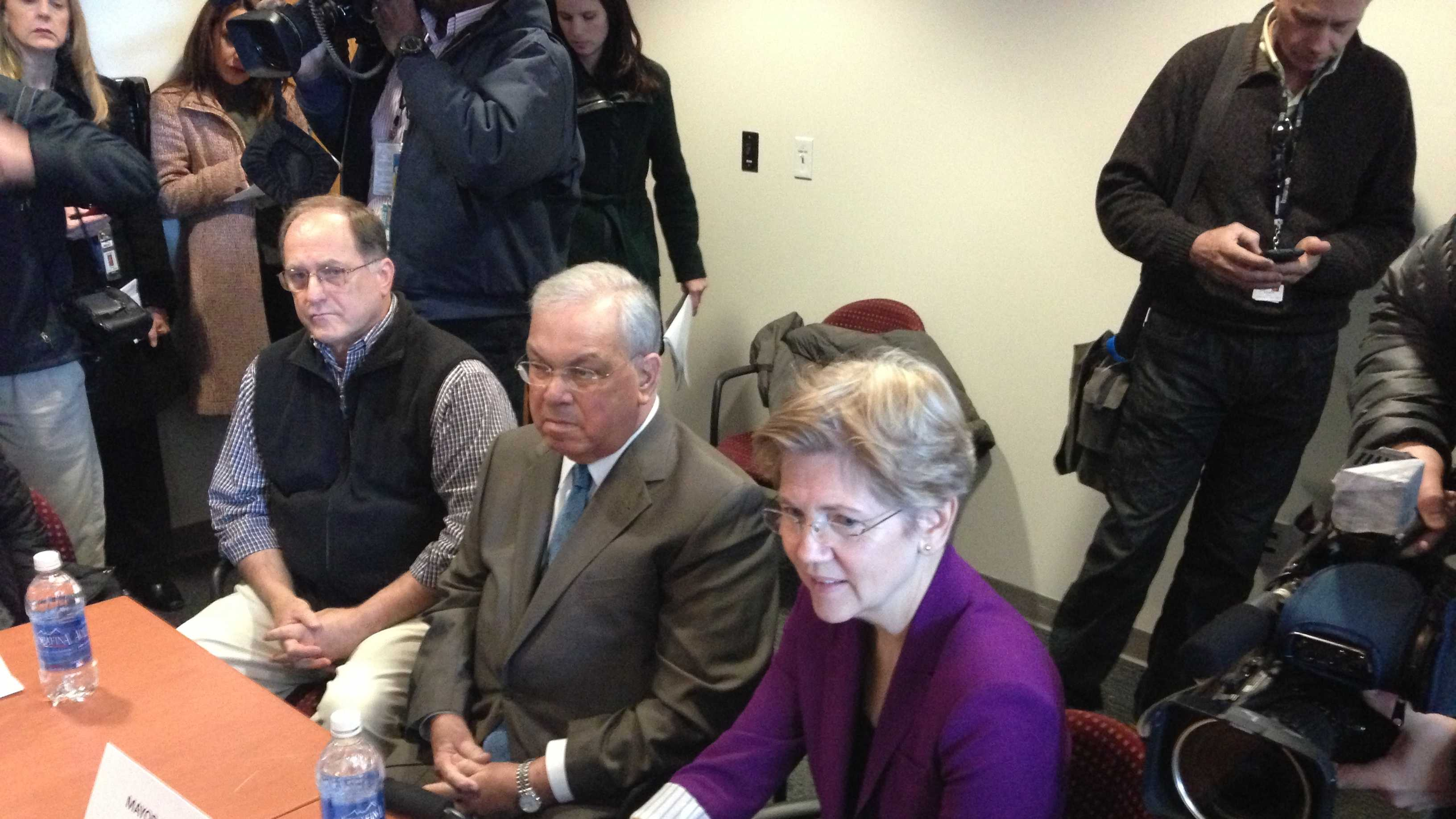 Menino Warren at BMC