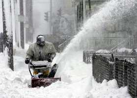 """This has the """"potential to be an historic blizzard,"""" the National Weather Service said on Thursday, February 7."""