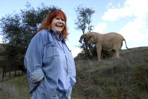 Pat Derby was a former Hollywood animal trainer who trained Flipper and Lassie and later devoted her life to protecting performing animals after seeing widespread abuse in the entertainment industry. (1933 - 2013)
