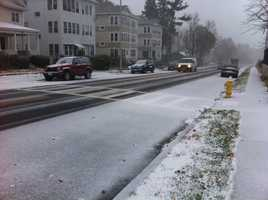 It was the first cold snap across the state for the season. Temperatures in Worcester dropped into the low 20s, forcing salt crews out for multiple nights.