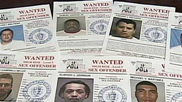 Sex Offender posters