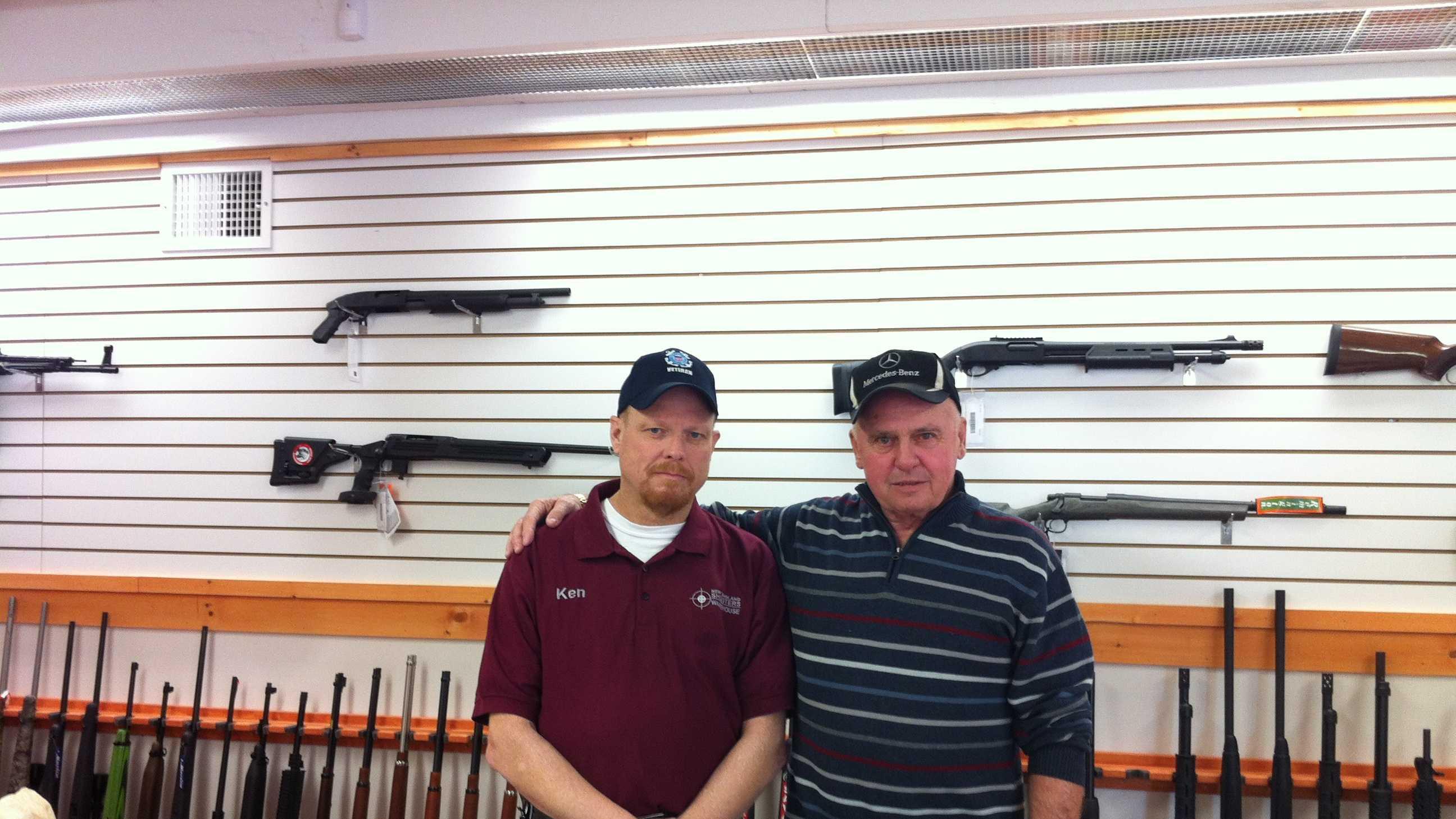 Gun shop owners