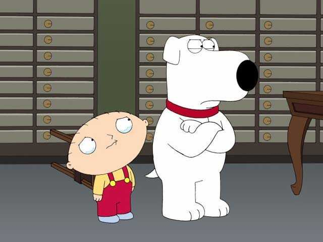 """Seth's animated program """"The Family Guy"""" is set in the fictional town of Quahog, Rhode Island."""