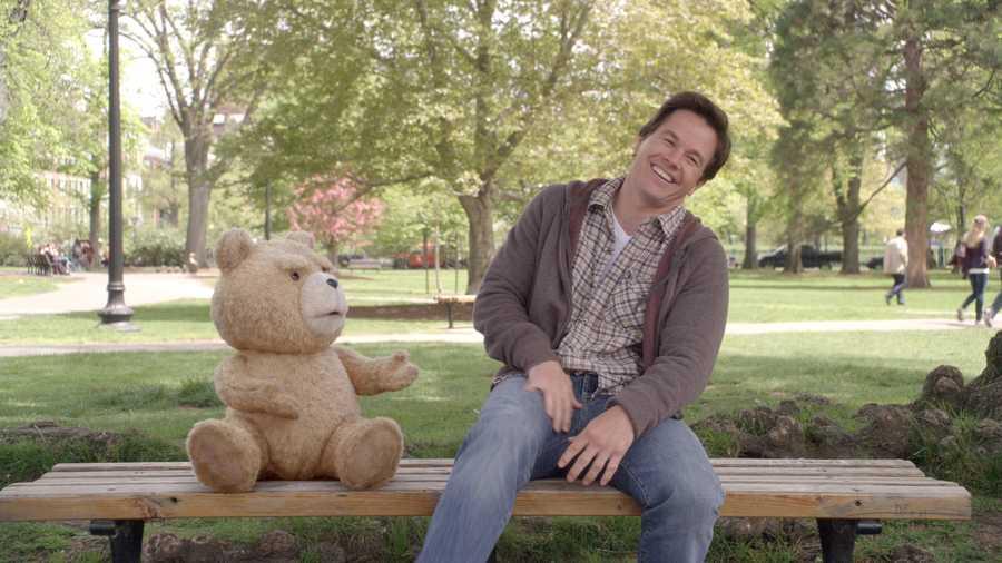 "Seth MacFarlane's movie ""TED"" is set in Boston, featuring Mark Wahlberg"