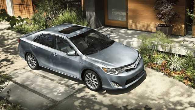 3. Toyota Camry