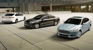 24. Ford Fusion