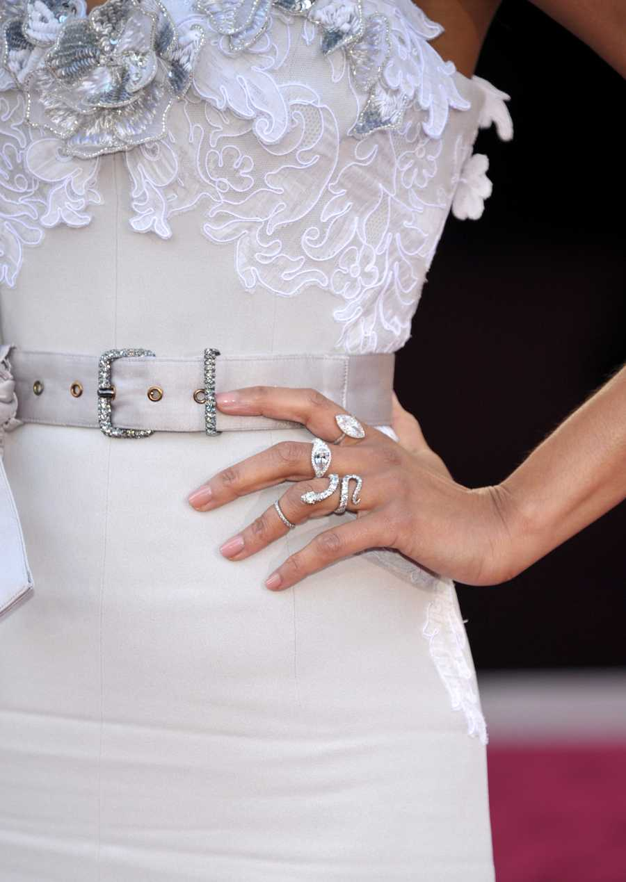 Jewelry worn by Actress Zoe Saldana
