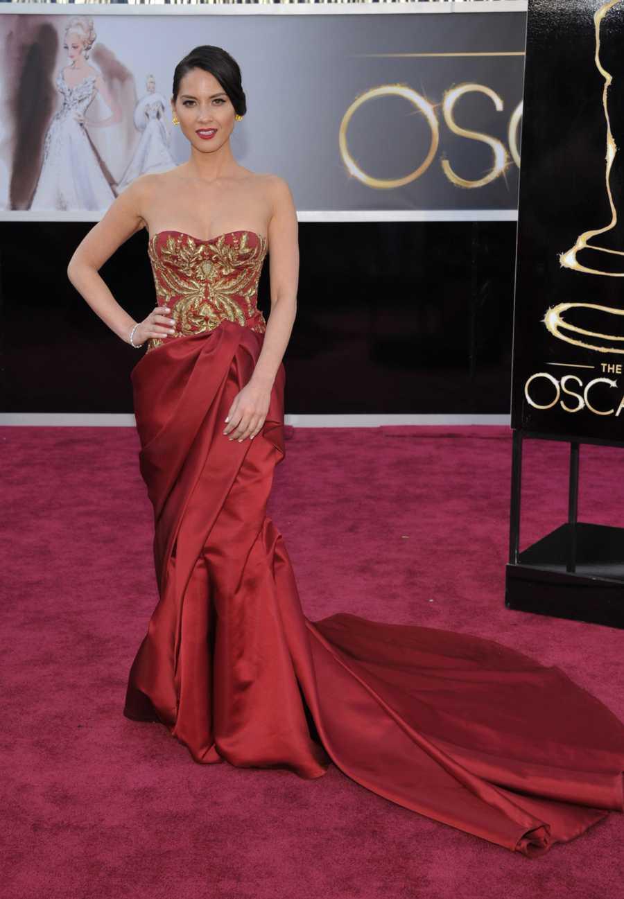 Actress Olivia Munn