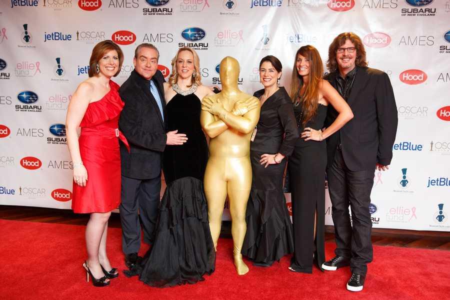 Kelley Tuthill, Fast Freddy, Sue Brady, Julie Nations of the Ellie Fund, Enza Sambataro and Ernie Boch Jr.