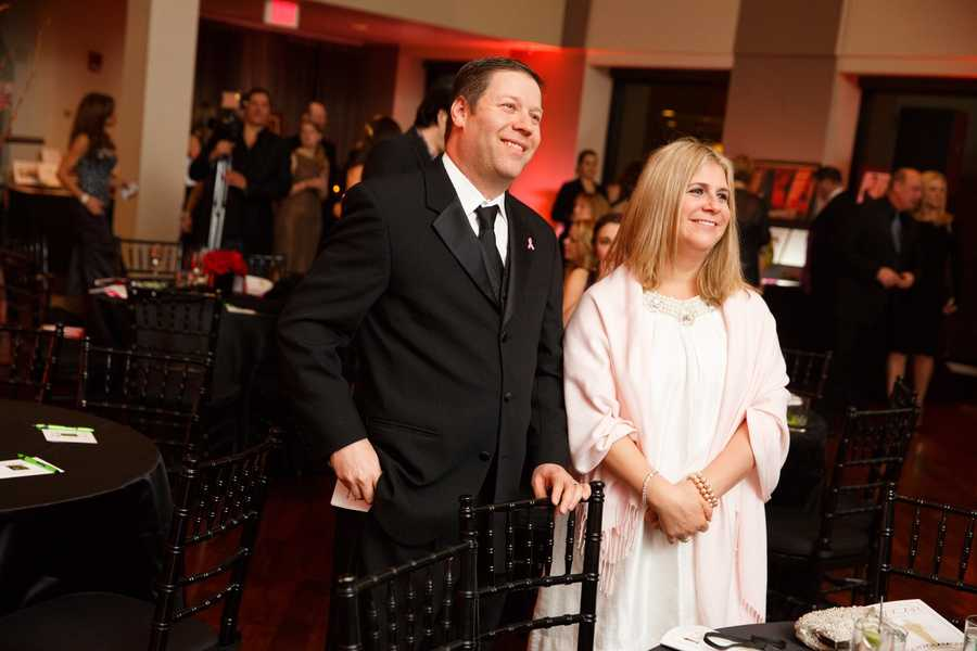 Jeff Popkin, founder of the Ellie Fund, and his wife Heidi.