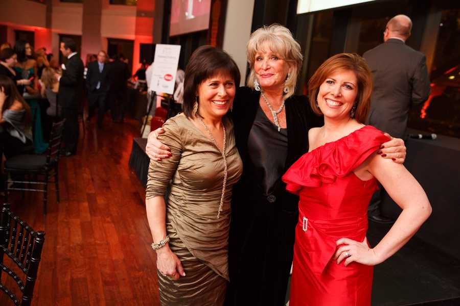 Gail Fine, Susan Wornick and Kelley Tuthill