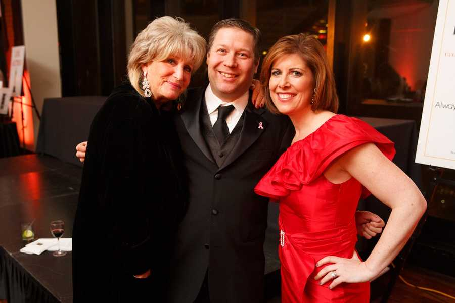Susan Wornick, Jeff Popkin and Kelley Tuthill